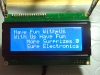 Display LCD Blu 20x4 - Test con Demo Board