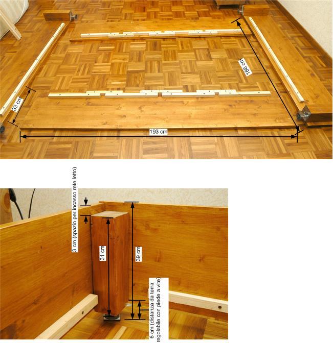 Come costruire un letto contenitore confortevole for Costruire un ranch a casa