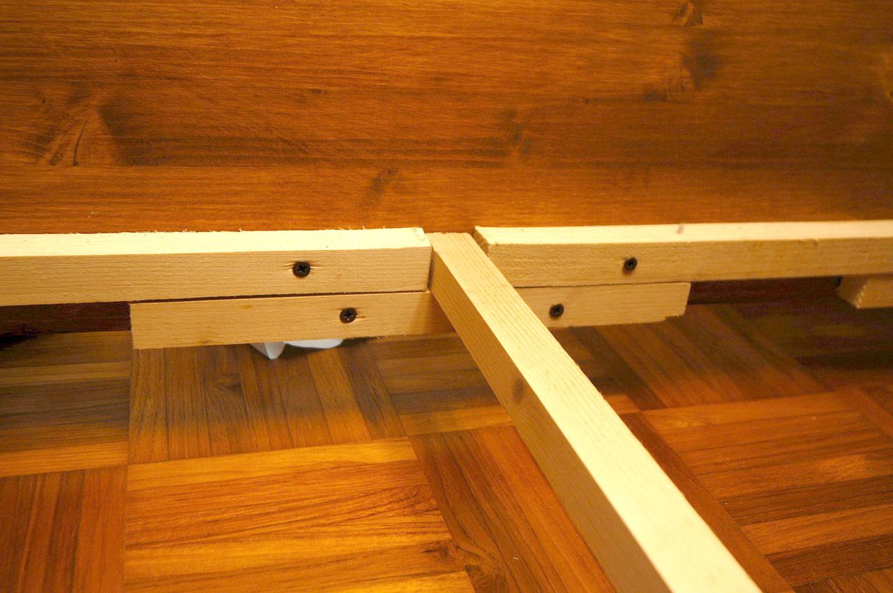 Costruire un letto contenitore xorse - Letto contenitore fai da te ...