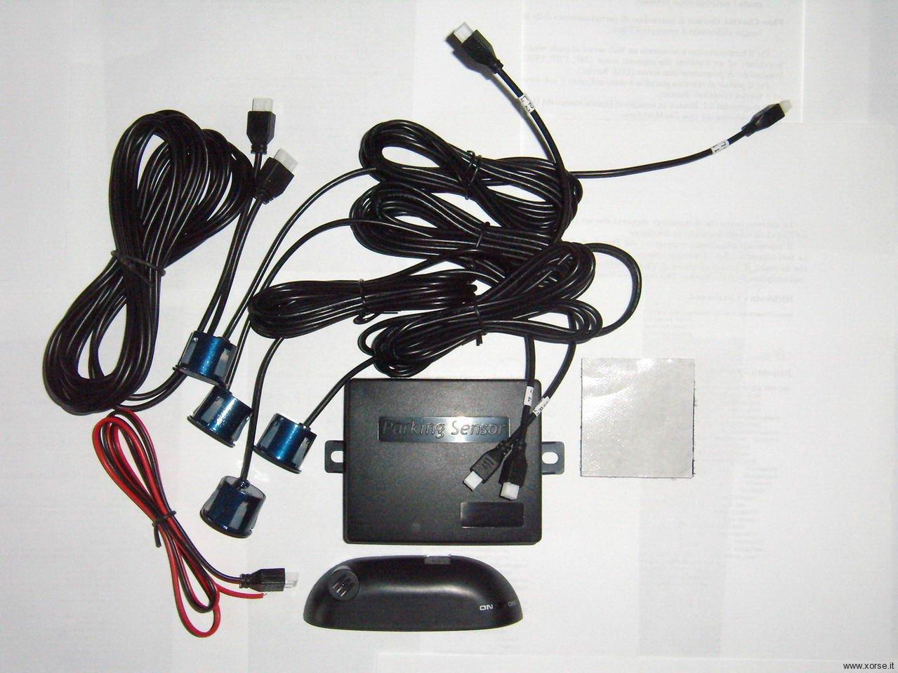 Schema Elettrico Sensori Di Parcheggio : Sensori di parcheggio il kit recensione xorse