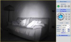 Ipcamera - ripresa notturna