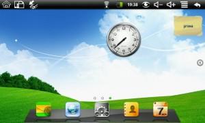 desktop con widget