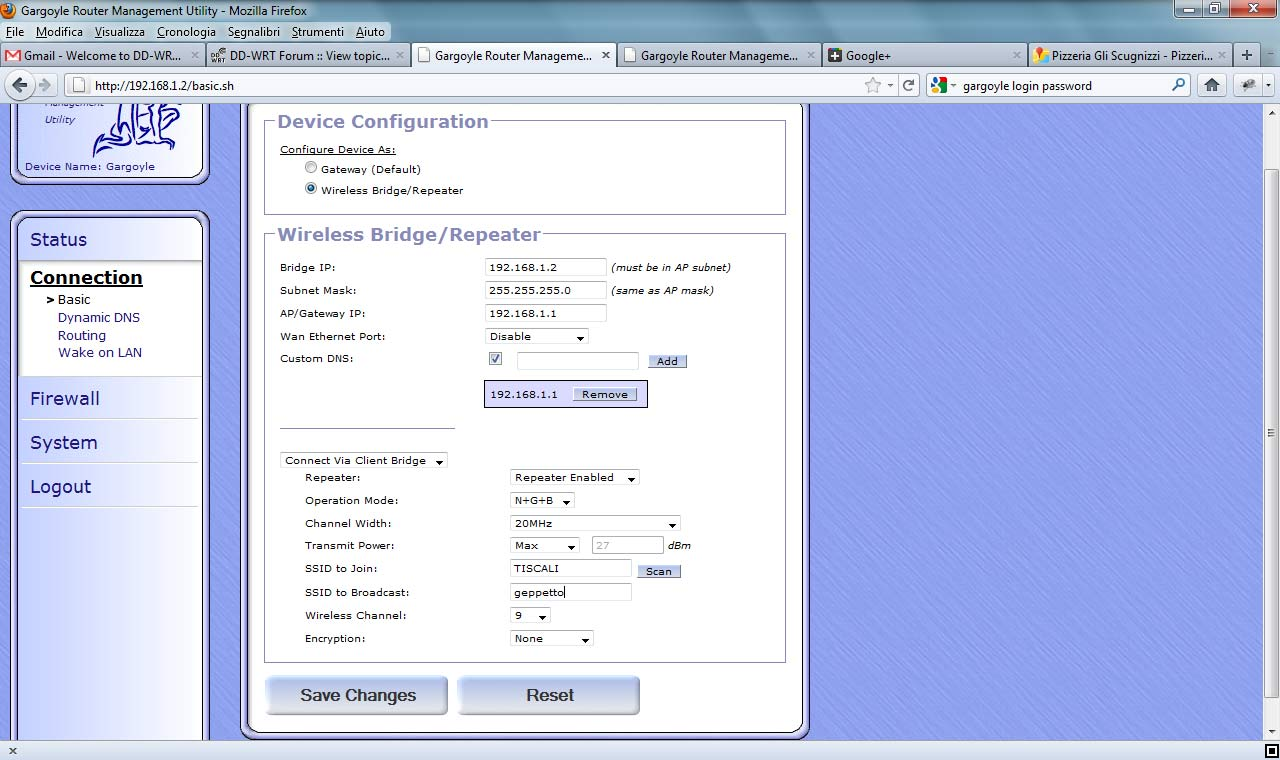 DD-WRT e OpenWRT Gargoyle sul router TP-Link TL-WR741ND - XOrse