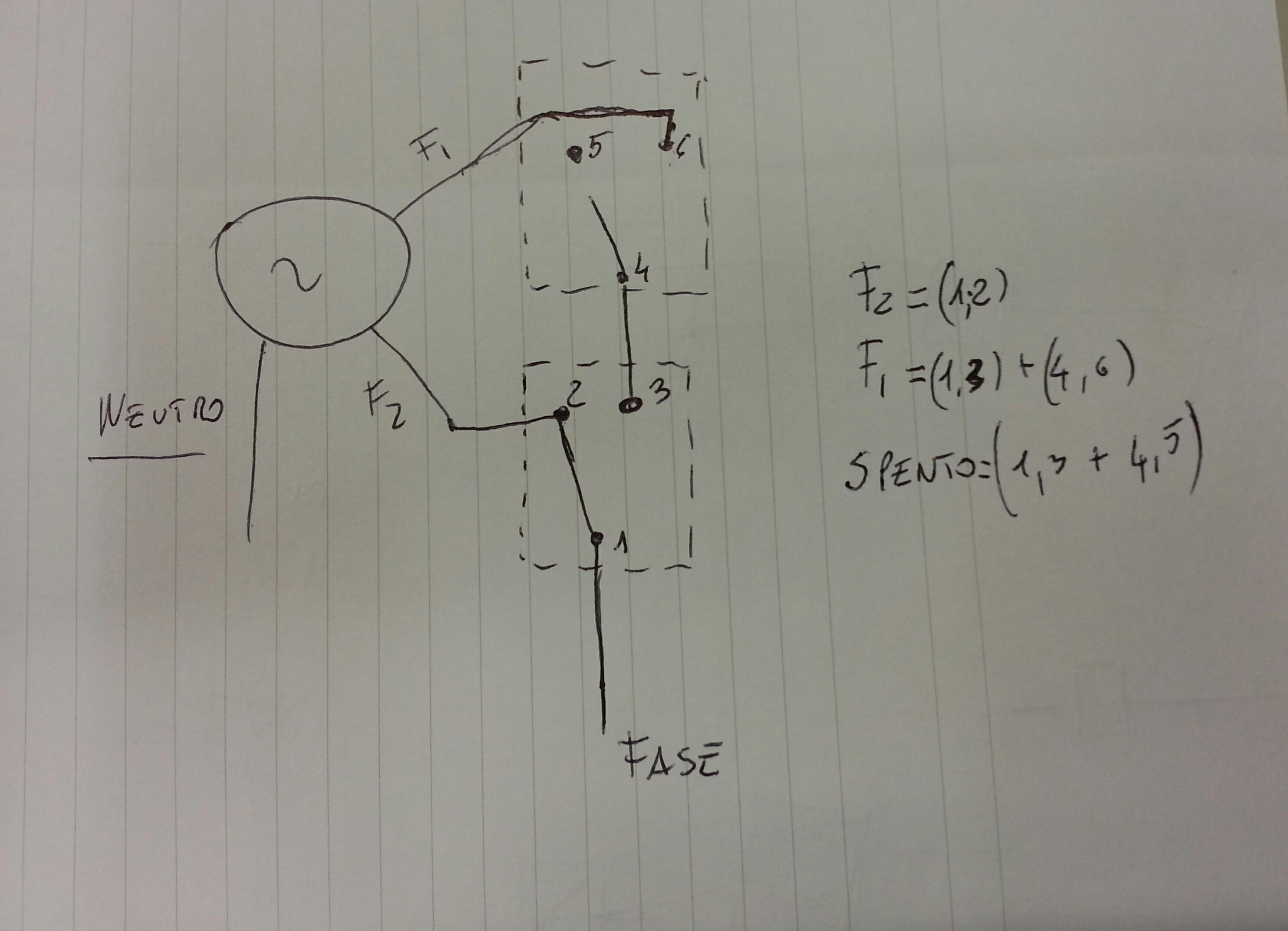 Schema Elettrico Per Doppio Interruttore : Schema elettrico per doppio interruttore